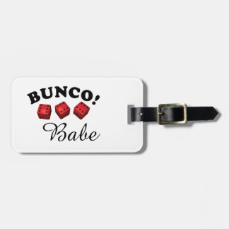 Bunco Babe All Sixes Luggage Tag