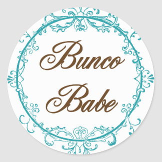Bunco Babe Stickers