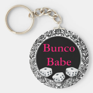 Bunco Babe Vintage Design Key Ring
