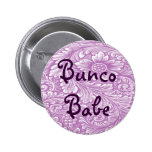 Bunco Babe With Flower Button