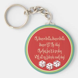 bunco bells, bunco bells key ring