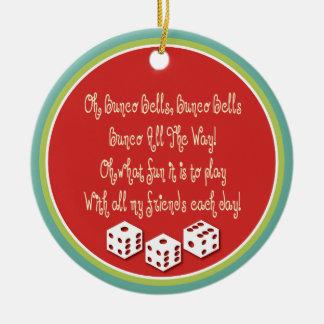 bunco bells ornament
