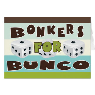 bunco bonkers card