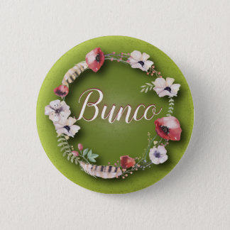 Bunco Button - Boho or Bohemian Design