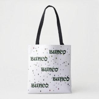 Bunco Confetti Tote Bag