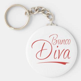 bunco diva key ring