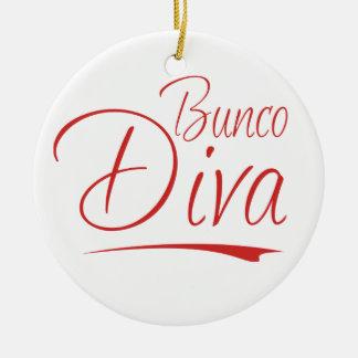 Bunco Diva Ornament