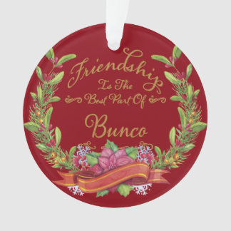 Bunco Friendship Ornament