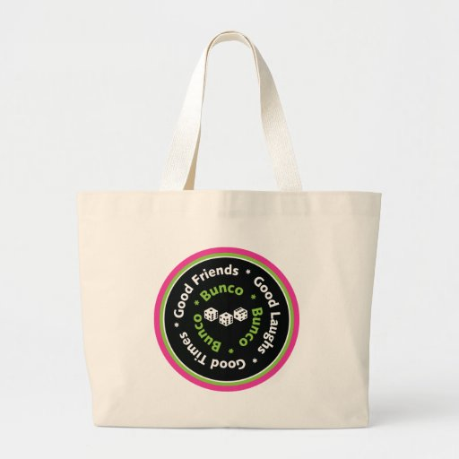 bunco good friends bags