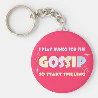 Bunco Gossip Key Ring