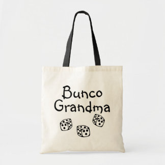Bunco Grandma Tote Bag