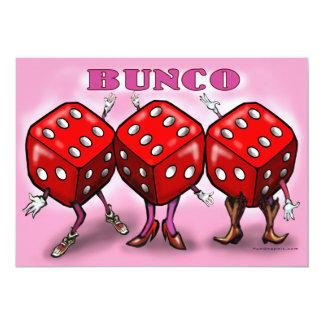 Bunco Party Invitation