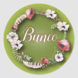 Bunco Sticker - Boho or Bohemian