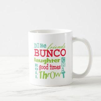 Bunco Subway Art Design By Artinspired Coffee Mug