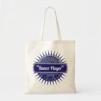 Bunco Supplies Dice Vintage Retro Blue Tote Bag
