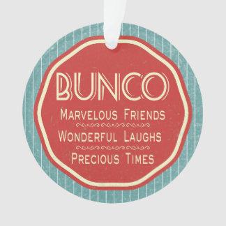 Bunco Vintage Emblem Ornament