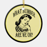 Bunco What Number Are We On #2 Ornament