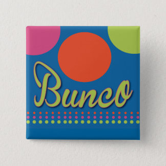 Bunco With Dots Pin