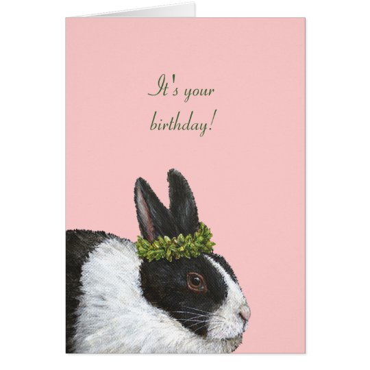 Bunderful birthday card