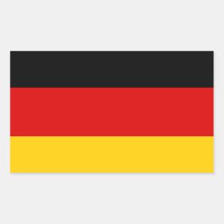 Bundesflagge Rectangular Sticker