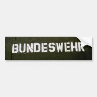 Bundeswehr Bumper Sticker