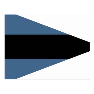 Bundeswehr Technical Force, Germany flag Postcard