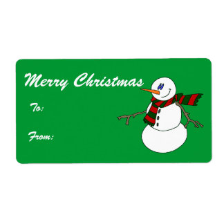Bundle - Merry Christmas Tags Shipping Label