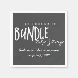 bundle of joy disposable napkin