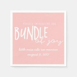bundle of joy disposable serviette
