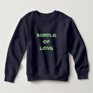 BUNDLE OF LOVE Toddler Warm Fleece Sweatshirts