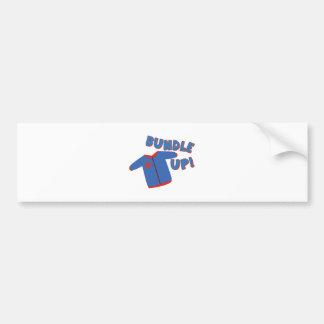 Bundle Shirt Bumper Sticker