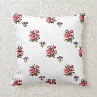 Bundles of Violets and Roses Reversible Pillow