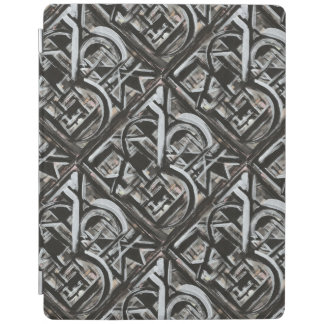 Bungalow-Hand Painted Abstract Art iPad Cover
