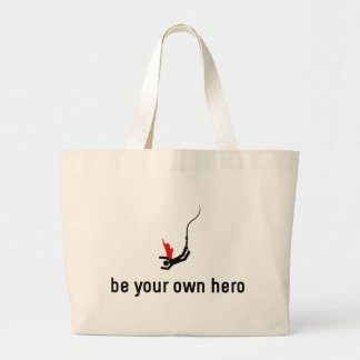 Bungee Hero Jumbo Tote Bag
