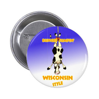 Bungee Jumpin' Wisconsin style Pins
