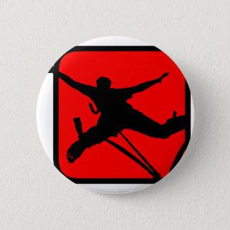 Bungee Jumping 3 6 Cm Round Badge