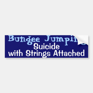 Bungee Jumping Bumper Stickers
