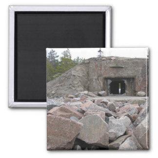 Bunker Shelter Magnet