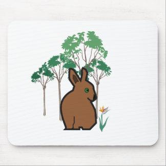 Bunn Bunny Mouse Pad