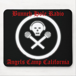 Bunneh Hole Radio Mouse Pad