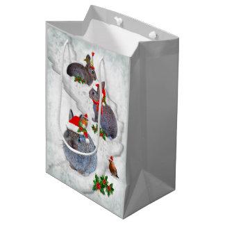 Bunnies' Christmas Party Gift Bag