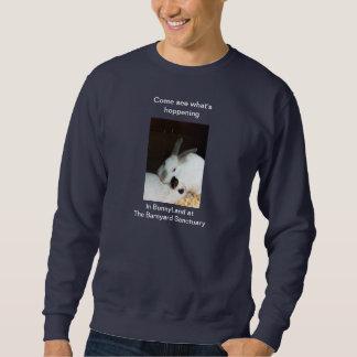Bunnies in BunnyLand at The Barnyard Sanctuary Sweatshirt
