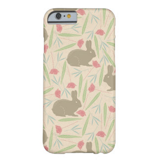 Bunnies in the Garden Pattern Barely There iPhone 6 Case