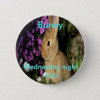 Bunny 6 Cm Round Badge