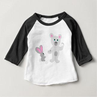 Bunny and Bear Team mates Baby T-Shirt