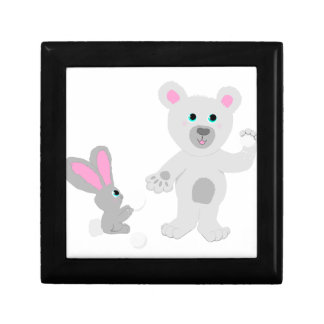 Bunny and Bear Team mates Gift Box