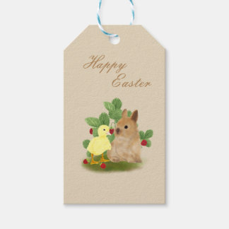 Bunny and Duckling Gift Tags