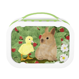 Bunny and Duckling Lunch Box