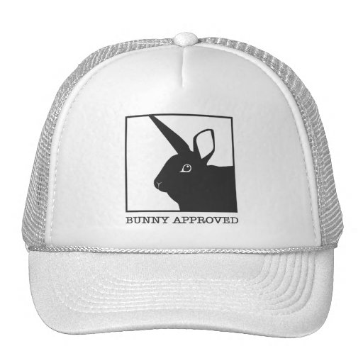 BUNNY APPROVED TRUCKER HAT