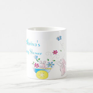 Bunny Baby Coffee Mug Baby Shower Favor